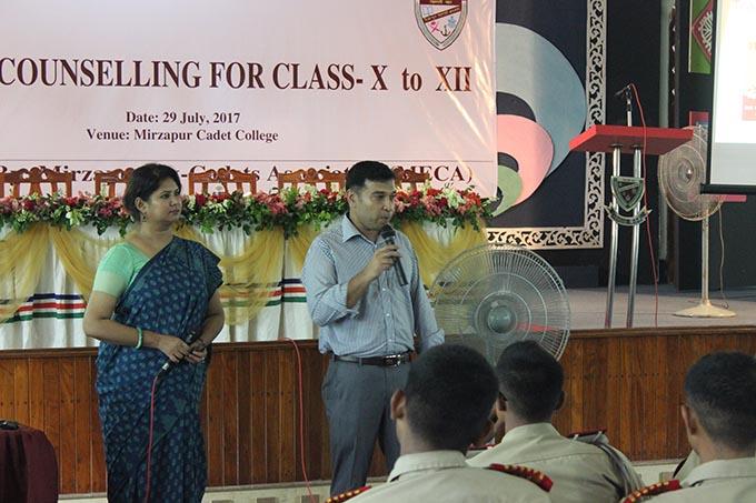 IUB's Career Counseling Seminar held at Mirzapur Cadet College