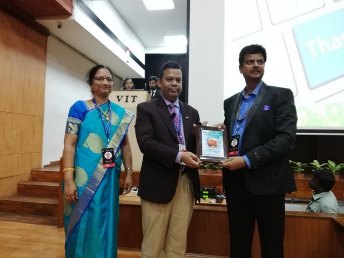IUB EEE faculty delivers Keynote Speech at International Conference in India