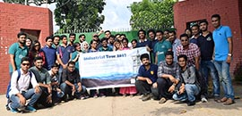 EEE Students Visit Power Plant in Sylhet