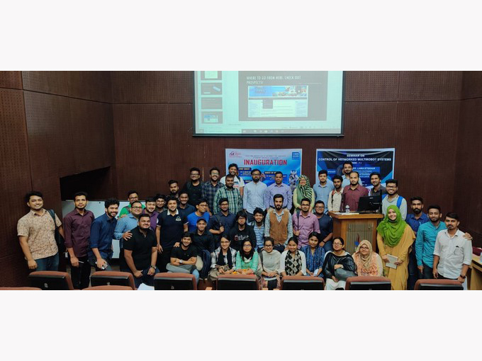 Grand Opening of IEEE Robotics & Automation Society IUB Student Branch Chapter