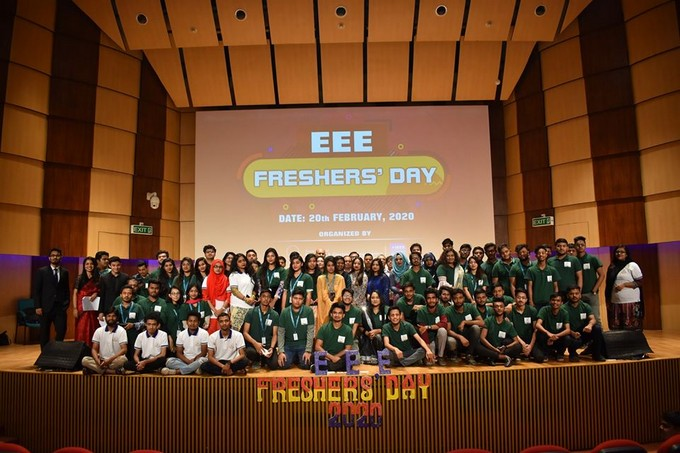 EEE Freshers' Day 2020 held at IUB