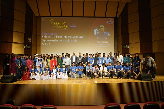 A Seminar on Scientific Problem Solving and Opportunity to Work with NASA held at IUB