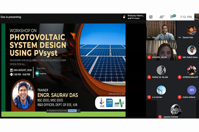 http://www.iub.edu.bd/articles/index/1618/Workshop-on-Photovoltaic-System-Design-Using-PVsyst