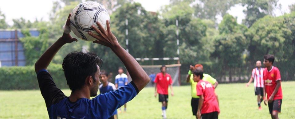 Intra IUB 9-A Side Football Tournament 2015