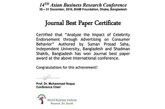 impact of celebrity endorsement essay The impact of celebrity endorsement on brand image in malaysia by elhag siddig elhag elhussein bba113aq570 supervised by: profhajdr s n yassin alheety faculty of finance &amp administrative sciences al-madinah international university sept 2014/1436h the impact of celebrity endorsement on brand image in malaysia by elhag siddig elhag.
